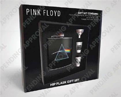 Pink Floyd: Side of the Moon - Flachmann Set [170ml]