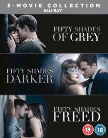 Fifty Shades 1-3 - Grey / Darker / Freed (3 Blu-rays)
