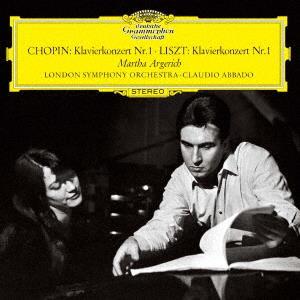 Frédéric Chopin (1810-1849), Franz Liszt (1811-1886), Claudio Abbado, Martha Argerich & London Symphony Orchestra - Piano Concertos No. 1 (UHQCD, MQA CD, Japan Edition)