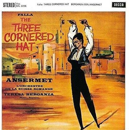 Manuel de Falla (1876-1946), Ernest Ansermet & L'Orchestre de la Suisse Romande - El Sombrero De Tres Picos, La Vida Breve, El Amor Brujo (UHQCD, MQA CD)