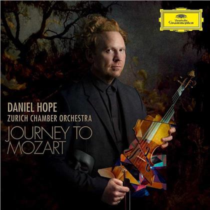 Wolfgang Amadeus Mozart (1756-1791), Joseph Haydn (1732-1809), Daniel Hope & Zurich Chamber Orchestra - Journey To Mozart (UHQCD, MQA CD, Japan Edition, Limited Edition)