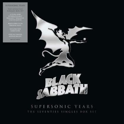"Black Sabbath - Supersonic Years:The Seventies Singles Box Set (10 7"" Singles)"