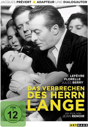 Das Verbrechen des Herrn Lange (1936)