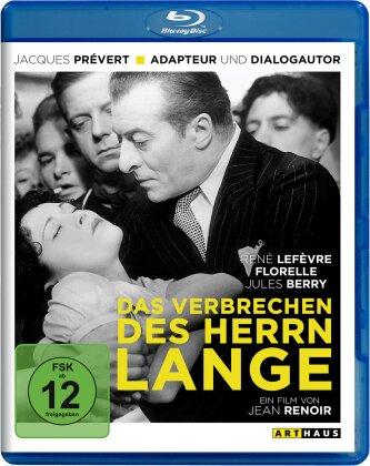 Das Verbrechen des Herrn Lange (1936) (Arthaus)