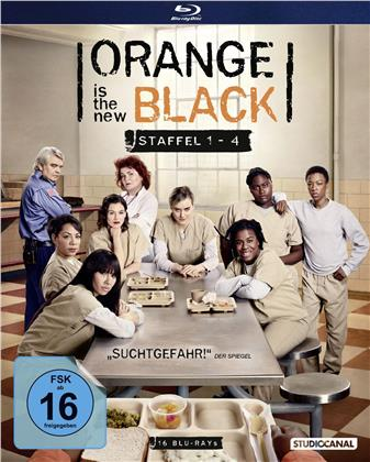 Orange Is The New Black - Staffel 1-4 (16 Blu-rays)