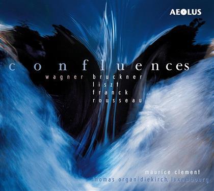 Maurice Clement - Confluences - Werke Für Orgel (SACD)