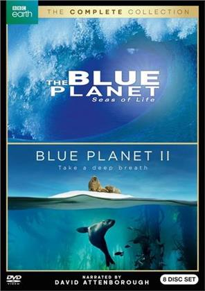 Blue Planet - The Complete Collection - Seas of Life / Take a deep Breath (BBC Earth, 8 DVDs)