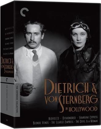 Dietrich & von Sternberg in Hollywood (n/b, Criterion Collection, 6 DVD)