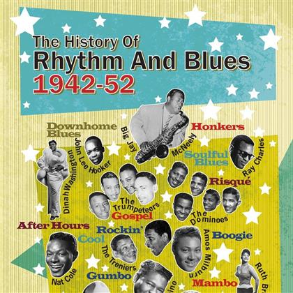 History Of Rhythm & Blues Records - Vol. 2 (4 CDs)