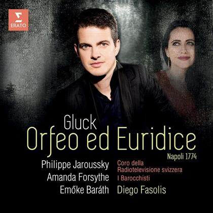 Diego Fasolis, Amanda Forsythe, Emöke Baráth, Philippe Jaroussky & I Barocchisti - Orfeo ed Euridice - Naples 1774 Version (Deluxe Edition)