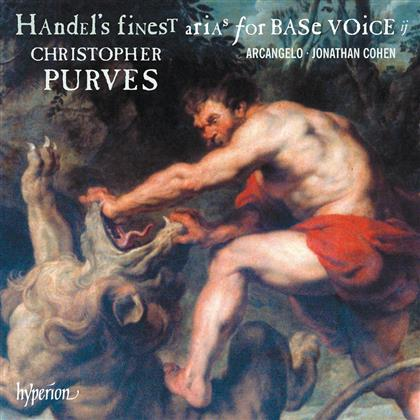 Christopher Purves, Jonathan Cohen, Georg Friedrich Händel (1685-1759) & Arcangelo - Handel's Finest Arias For Base Voice