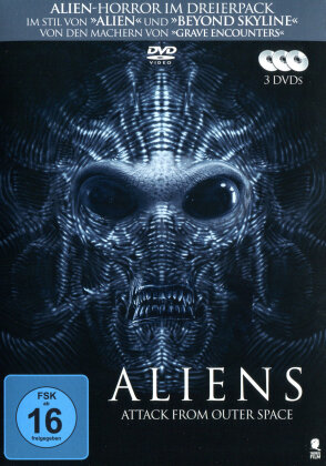 Aliens - Attack from Outer Space (3 DVDs)