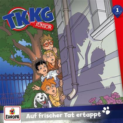 TKKG Junior - 001/Auf frischer Tat ertappt