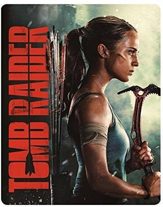 Tomb Raider (2018) (Limited Edition, Steelbook, Blu-ray 3D + Blu-ray)