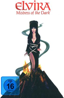 Elvira - Mistress of the Dark (1988) (Cover Fire, Edizione Limitata, Mediabook, Versione Rimasterizzata, Uncut, Blu-ray + DVD)