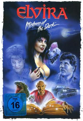 Elvira - Mistress of the Dark (1988) (Cover Artwork, Edizione Limitata, Mediabook, Versione Rimasterizzata, Uncut, Blu-ray + DVD)