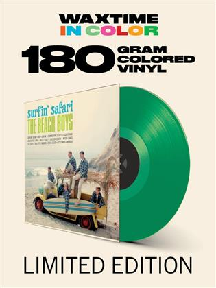 The Beach Boys - Surfin' Safari - + Bonustracks (Waxtime, Limited Edition, Tranpsarent Green Vinyl, LP)