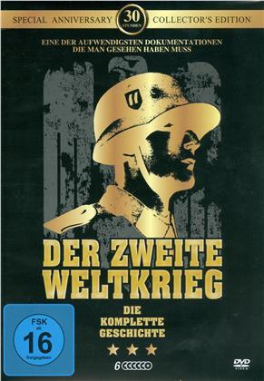 Der zweite Weltkrieg - Die komplette Geschichte (Collector's Edition, 6 DVDs)