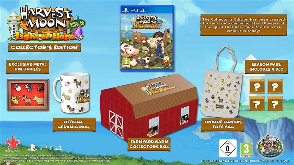 Harvest Moon: Light of Hope (Édition Collector)