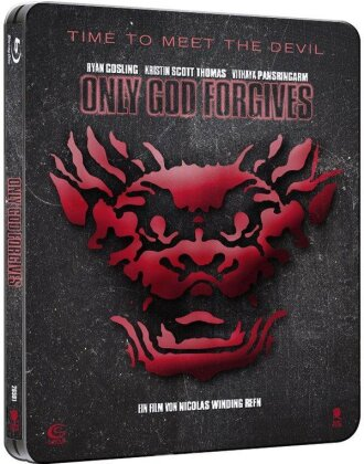 Only God Forgives (2012) (Limited Edition, Steelbook, Blu-ray + 2 DVDs)