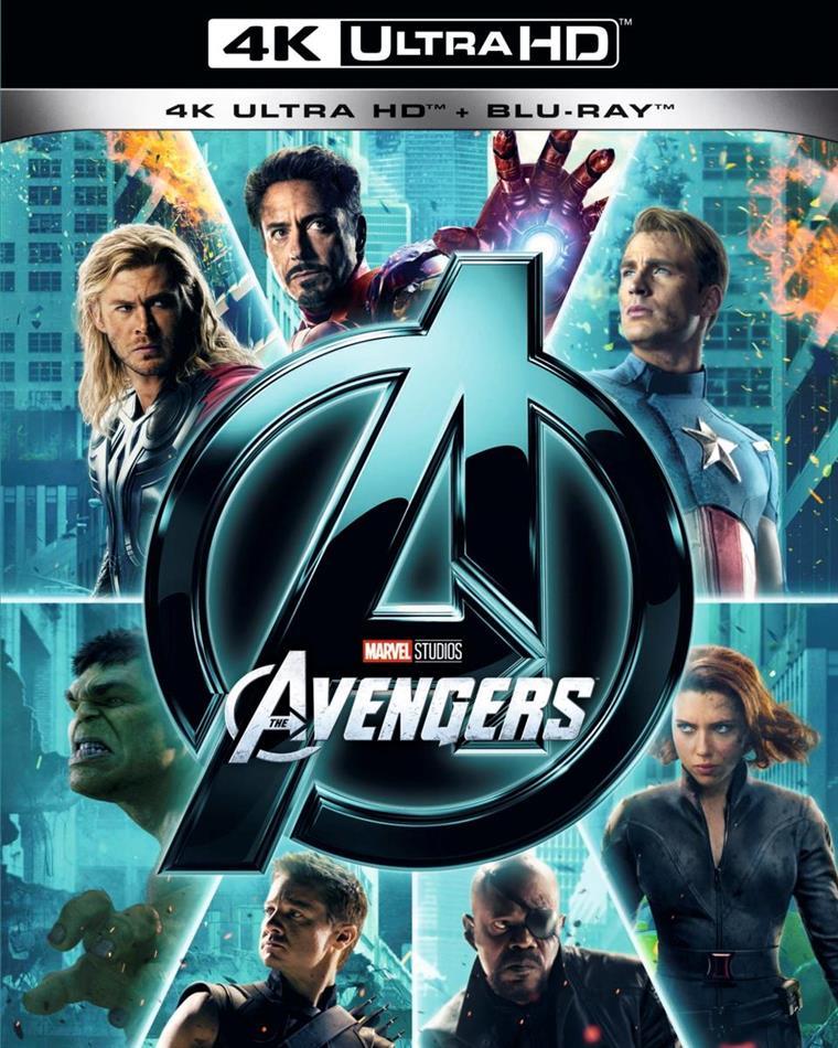 The Avengers (2012) (4K Ultra HD + Blu-ray)