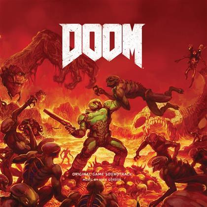 Mick Gordon - Doom - OST (Red Vinyl, 2 LPs)