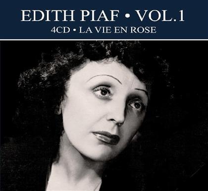 Edith Piaf - La Vie En Rose (Digipack, 4 CDs)
