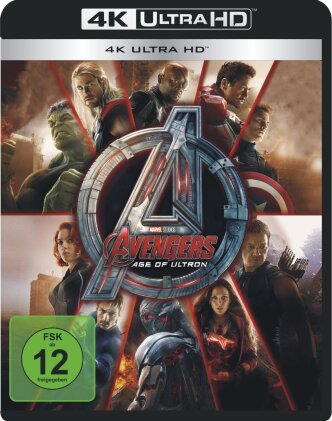 Avengers 2 - Age of Ultron (2015) (4K Ultra HD + Blu-ray)