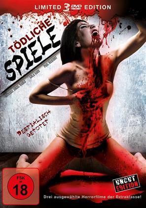 Tödliche Spiele (Limited Edition, Uncut, 3 DVDs)