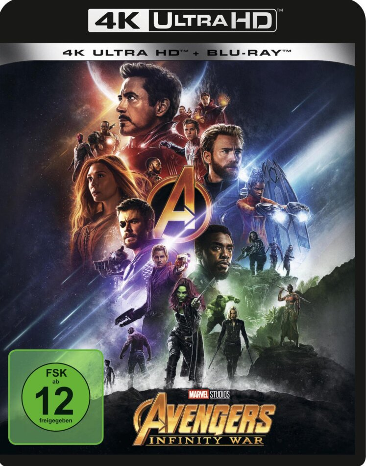 Avengers 3 - Infinity War (2018) (4K Ultra HD + Blu-ray)