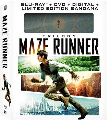 Maze Runner Trilogy (Limited Edition, 3 Blu-rays + 3 DVDs)