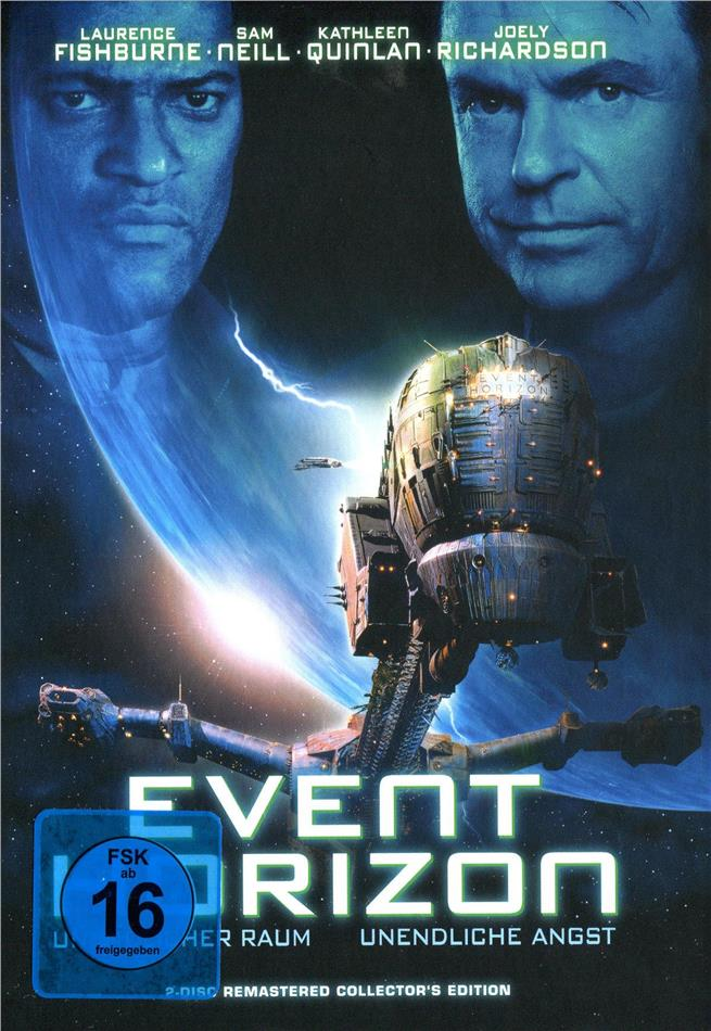 Event Horizon (1997) (Cover A, Collector's Edition, Limited Edition, Mediabook, Remastered, Uncut, Blu-ray + DVD)