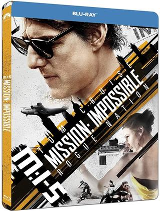 Mission Impossible 5 - Rogue Nation (2015) (Limited Edition, Steelbook)