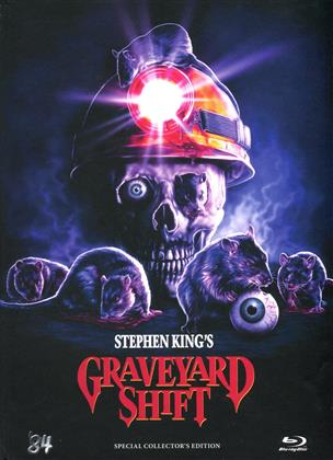 Graveyard Shift (1990) (Cover D, Collector's Edition, Limited Edition, Mediabook, Special Edition, Uncut)
