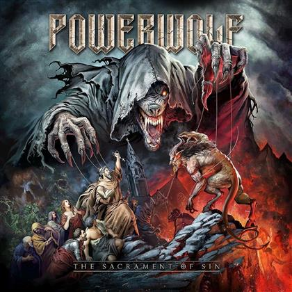 Powerwolf - Sacrament Of Sin (Mediabook Slipcase, 2 CDs)