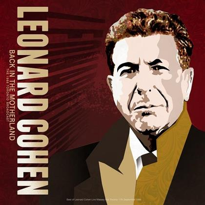 Leonard Cohen - Back In The Motherland, Best of 1988 Toronto Live (LP)