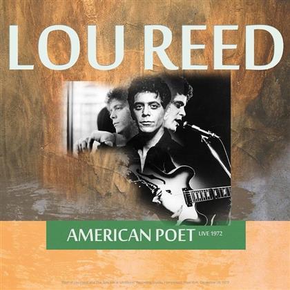 Lou Reed - Best of American Poet Live 1972 (LP)