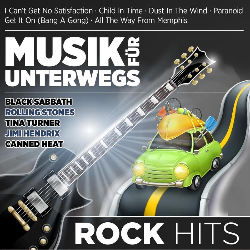 Musik für unterwegs - Rock Hits (2 CDs)