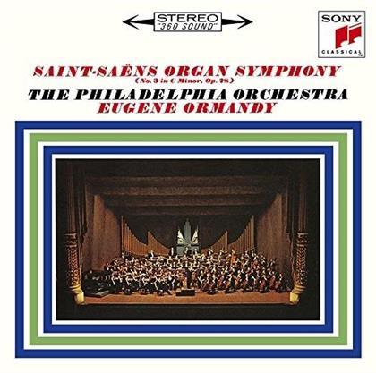 Camille Saint-Saëns (1835-1921), Modest Mussorgsky (1839-1881), Eugène Ormandy & Philadelphia Orchestra - Symphony No. 3 (Limited Edition, Remastered)
