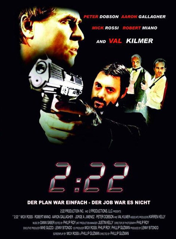 2:22 (2008) (Cover A, Limited Edition, Mediabook, Uncut, Blu-ray 3D (+2D) + DVD)