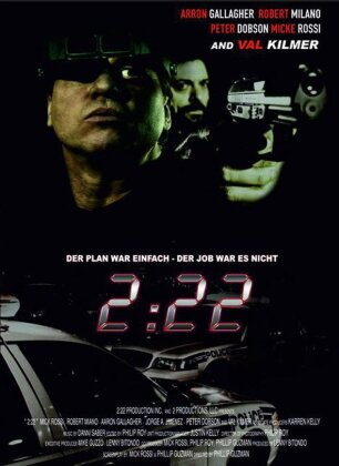 2:22 (2008) (Cover B, Limited Edition, Mediabook, Uncut, Blu-ray 3D (+2D) + DVD)