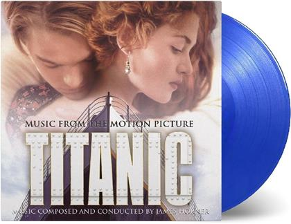 James Horner - James Horner - OST (at the movies, Transparent Blue Vinyl, 2 LPs)