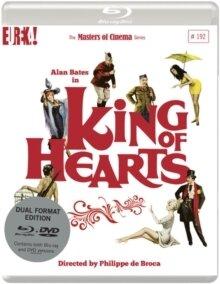King Of Hearts (1966) (Masters of Cinema, DualDisc, Blu-ray + DVD)