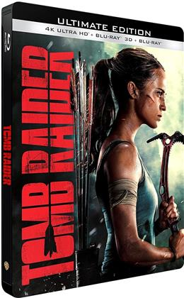 Tomb Raider (2018) (Limited Edition, Steelbook, Ultimate Edition, 4K Ultra HD + Blu-ray 3D + Blu-ray)