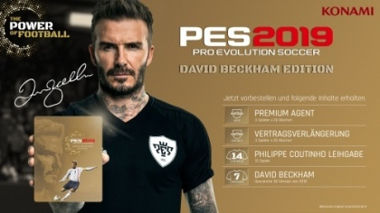 PES 2019 - Pro Evolution Soccer (David Beckham Edition)