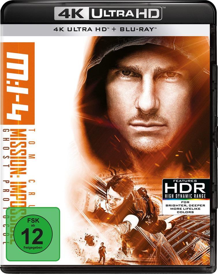 Mission: Impossible 4 - Phantom Protokoll (2011) (4K Ultra HD + Blu-ray)