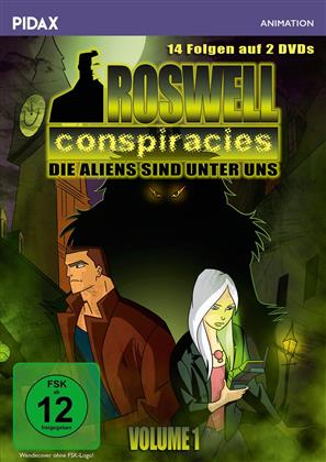 Roswell Conspiracies - Vol. 1 (Pidax Animation, 2 DVDs)