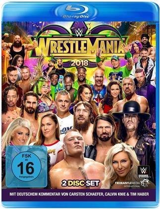 WWE: Wrestlemania 34 (2 Blu-rays)
