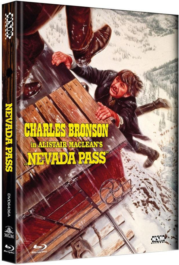 Nevada Pass (1975) (Cover A, Collector's Edition, Limited Edition, Mediabook, Blu-ray + DVD)