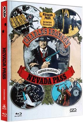 Nevada Pass (1975) (Cover B, Collector's Edition, Edizione Limitata, Mediabook, Blu-ray + DVD)